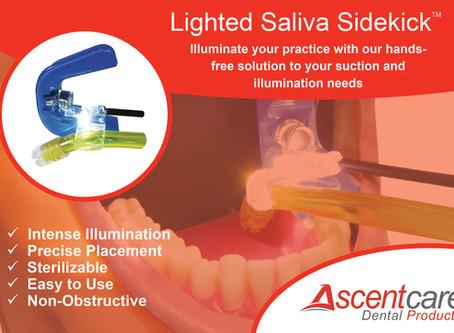 Ascentcare's Newest Product Showcase: the Lighted Saliva Sidekick