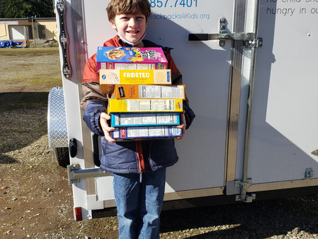 Local Preschool Hold Cereal Drive