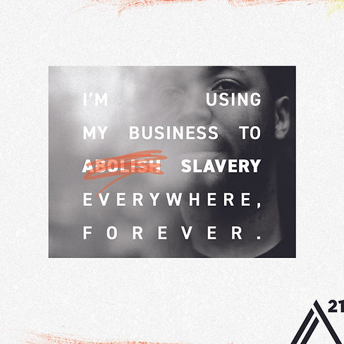 i am using my business to slavery everywhere, forever