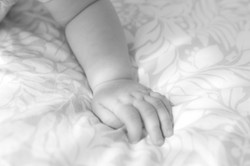 baby armpje fotografie