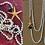 Thumbnail: colar pérolas do rio, enfiadas com nós- pedras semipreciosas ágata azul estrela