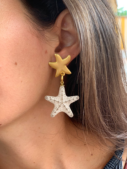 brincos estrela&estrela do mar