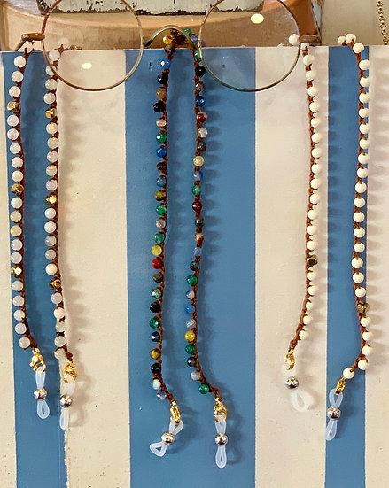 fios de óculos  handmade- várias cores e pormenores