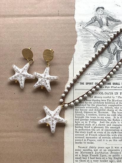 Conjunto Estrela do Mar Branca