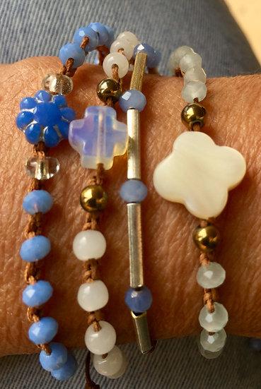 pulseiras ajustáveis handmade