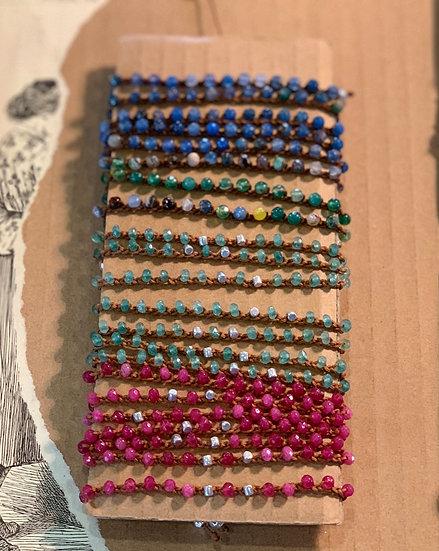 pulseira ajustável handmade