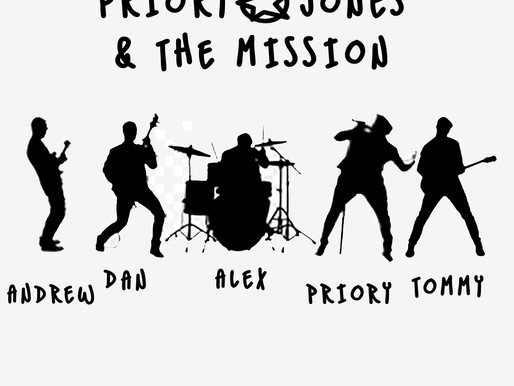 Review: Priory Jones and The Mission - Eye Of The Storm