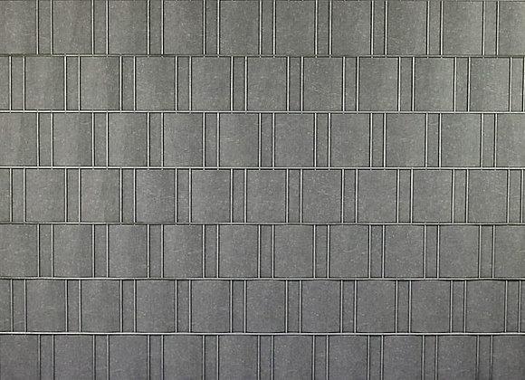 Grau marmoriert -Sichtschutz
