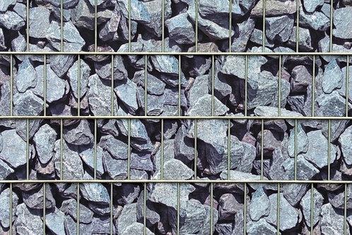 Granitmauer / Bruchstein - Sichtschutz