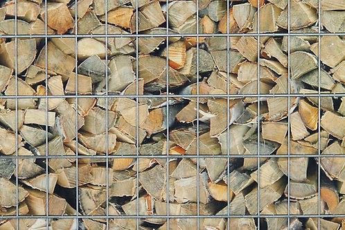 Holzwand / Schichtholz - Sichtschutz