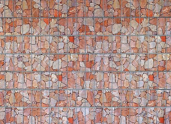 Sandsteinmauer / Schichtstein - Sichtschutz