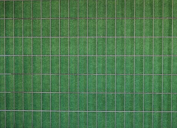 Grün marmoriert - Sichtschutz