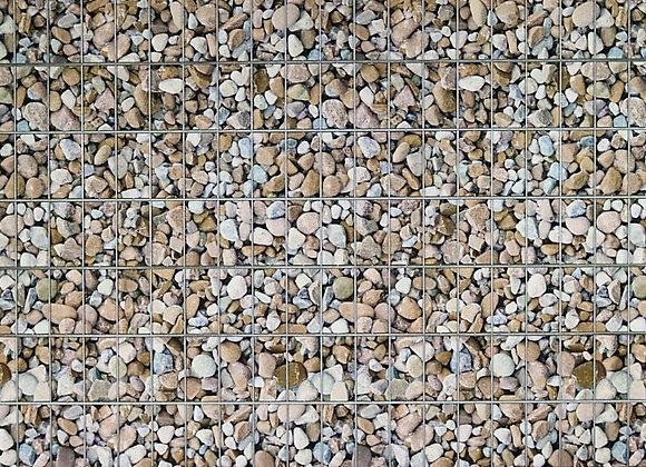 Kieselsteine - Sichtschutz