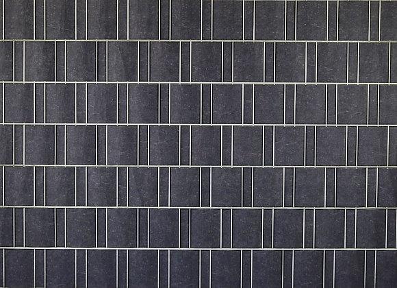 Schwarz marmoriert - Sichtschutz