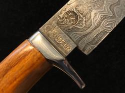Hunting Knife Damast