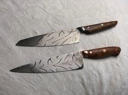 Chef Knives Mosaik Damast