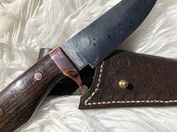 KohlerKnives Hunting Knife Damast