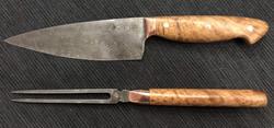 ChefKnife Rosen Damast Thuja