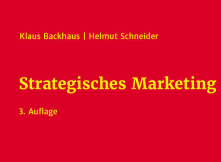 Strategisches Marketing - der Klassiker NEU!