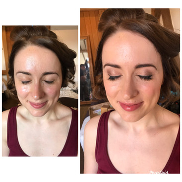 Delicate lash extensions for a natural look