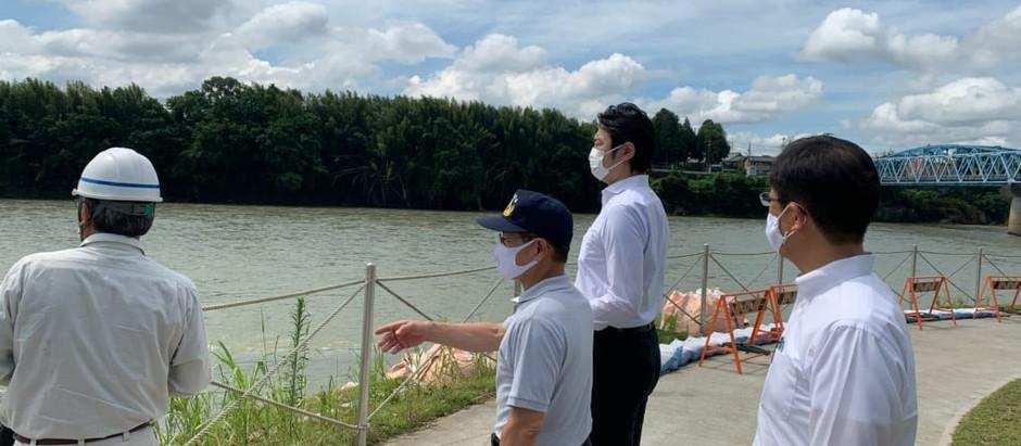 《7月16日》現地視察⑧(美濃加茂市)