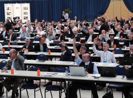 Inicia a 57ª Assembleia Geral da Conferência Nacional dos Bispos do Brasil em Aparecida (SP)