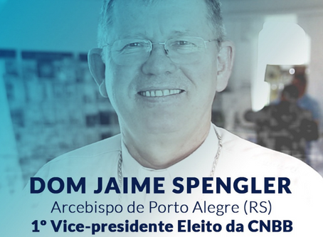 57ª Assembleia Geral: dom Jaime Spengler é eleito o primeiro vice-presidente da CNBB