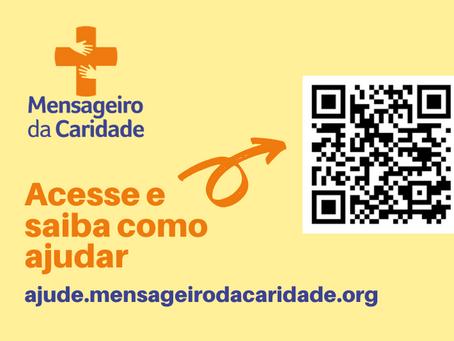 Coronavírus: Mensageiro da Caridade busca ajuda da comunidade