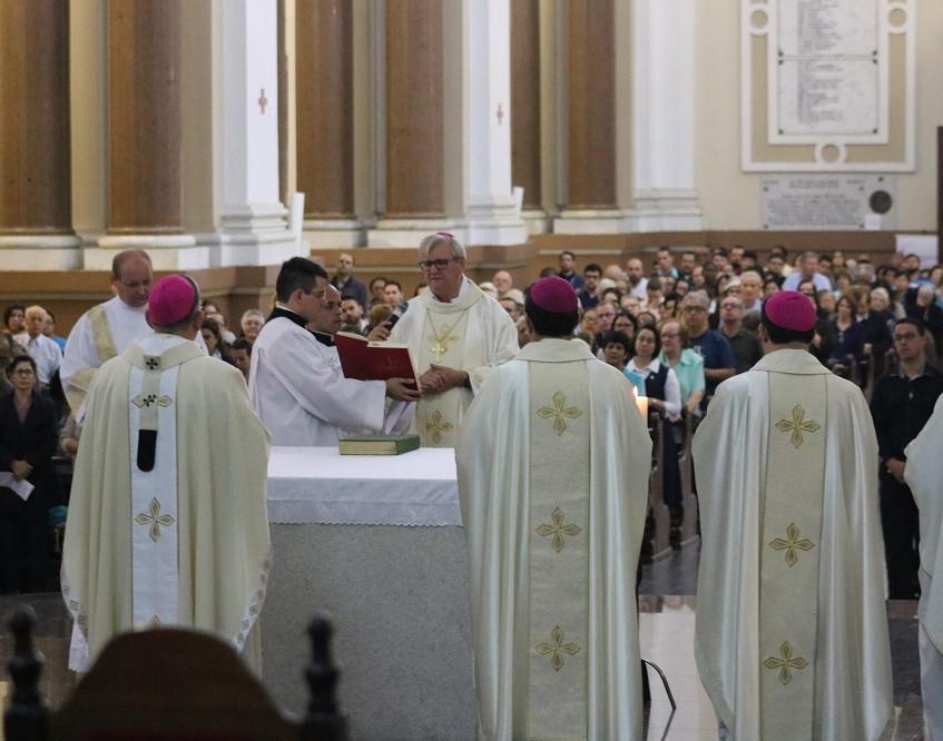 Novo bispo auxiliar da Arquidiocese