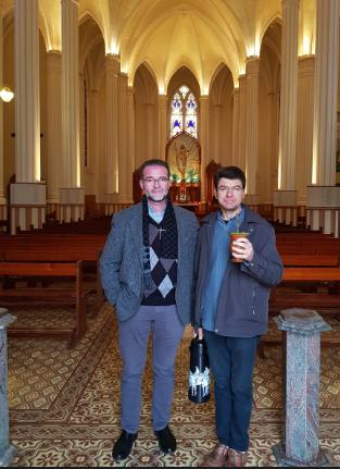 Visita às paróquias em Vacaria