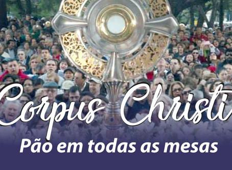 Corpus Christi: Vicariato de Porto Alegre promove missa e procissão; leve 1kg de alimento não-perecí