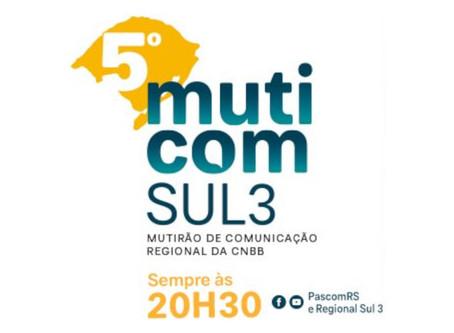 Pascom do RS promove Mutirão da Comunicação