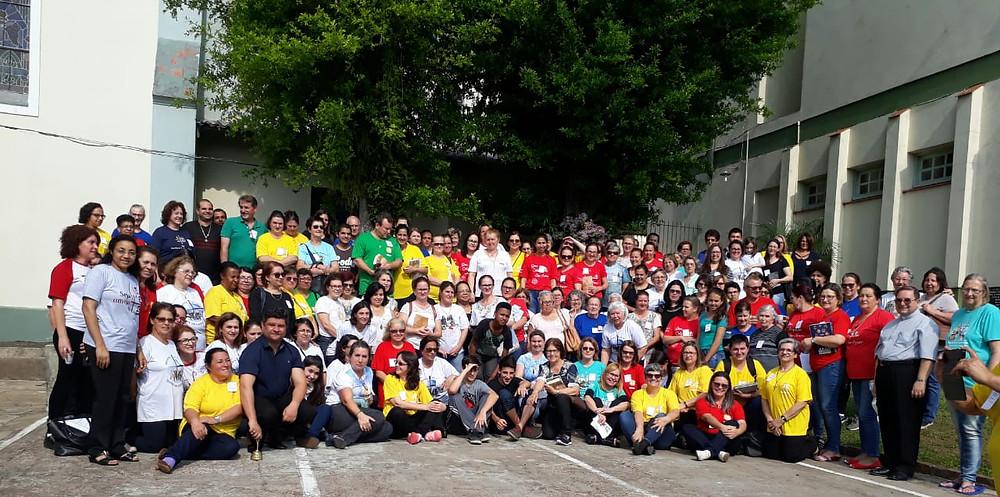 Vicariato de Guaíba, na Paróquia Nossa Senhora do Livramento.