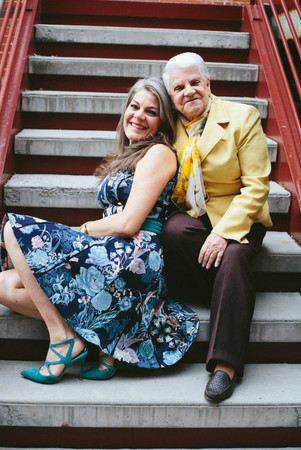 Mother daughter portraits in Durham, NC