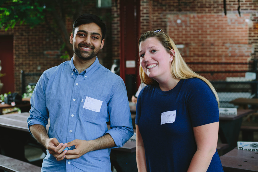 Networking event photography in Durham, NC