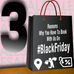 3 Reasons Why You Have To Book With Us On Black Friday