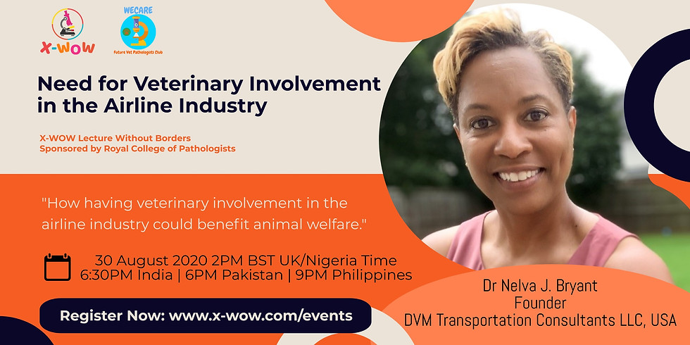 Need for Veterinary Involvement in the Airline Industry