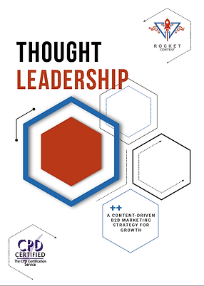 Rocket Content Guide to Thought Leadership