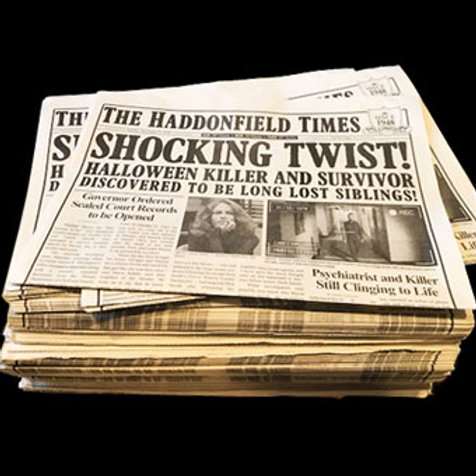 The Haddonfield Times (2 Copies)