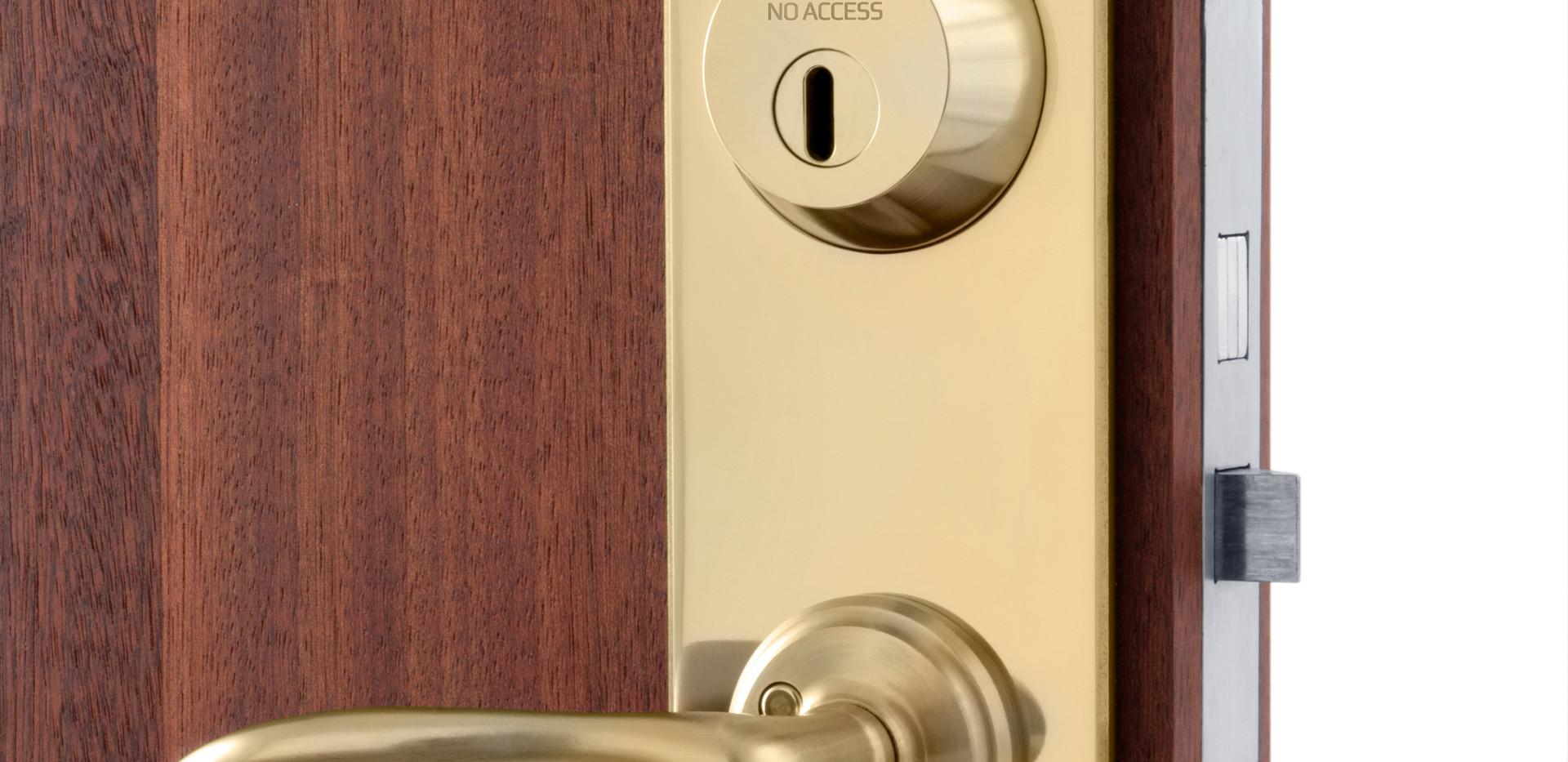 No Access låssystem mässing