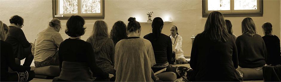 Yogic Philosophy in Manish Vyas retreats