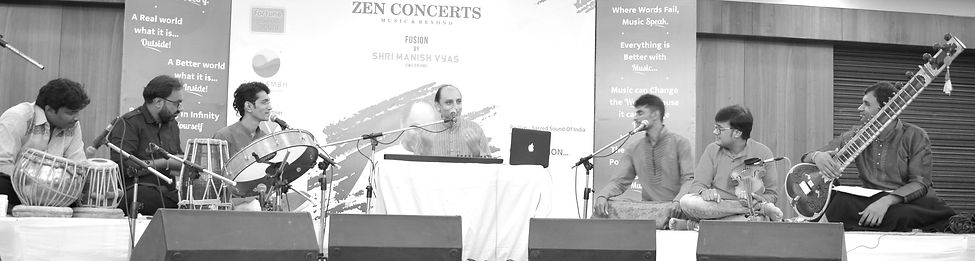 Manish Vyas and his band from India | Zen Concert Ahmdabad