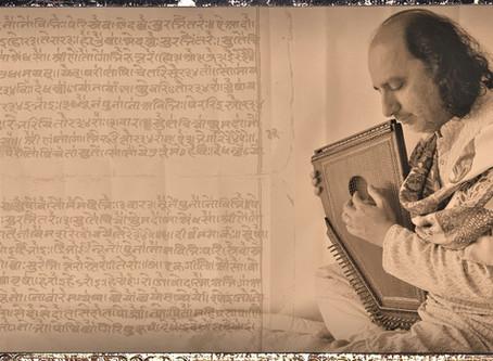 cómo es la tradición de mantra y música sagrada de la india.