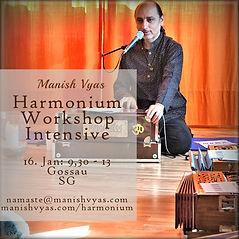 Harmonium lernen mit Manish Vyas