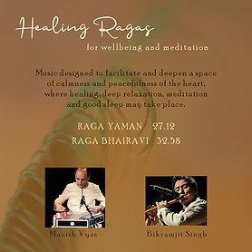 Healing Ragas 1 by Manish Vyas and Bikram Singh