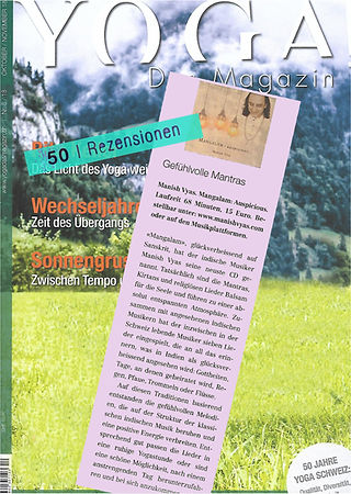 Rezension Manish Vyas Yoga Das Magazin