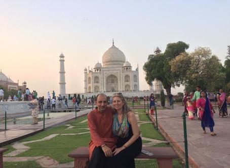 my visit to taj mahal.
