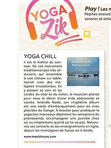 Esprit Yoga France reviews the music of Manish Vyas