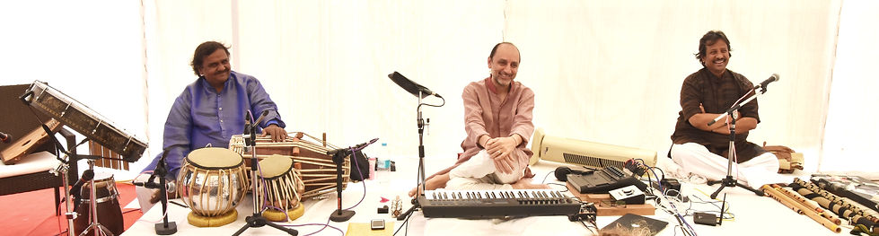 Booking live music from India for Yoga Festivals