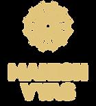 vertical_tagline_on_transparent gold PNG